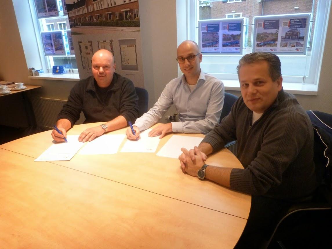 De Greef Diervoeders en Makelaardij Woudenberg nieuwe sponsors Heren 2