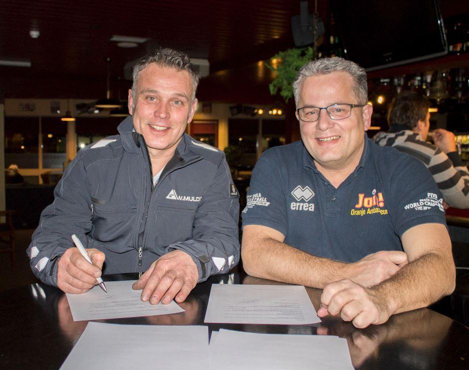 Volleybalvereniging Woudenberg verwelkomt nieuwe sponsoren!