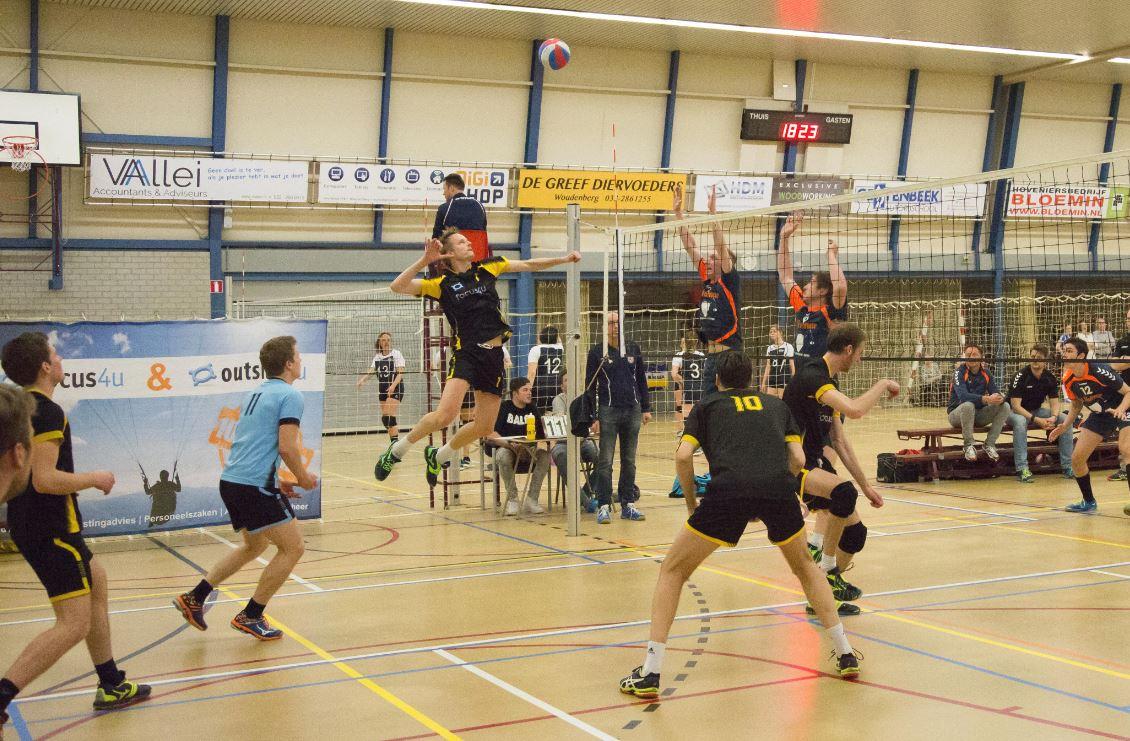 4-0 winst voor Focus4u/Heren 1 in laatste competitiewedstrijd