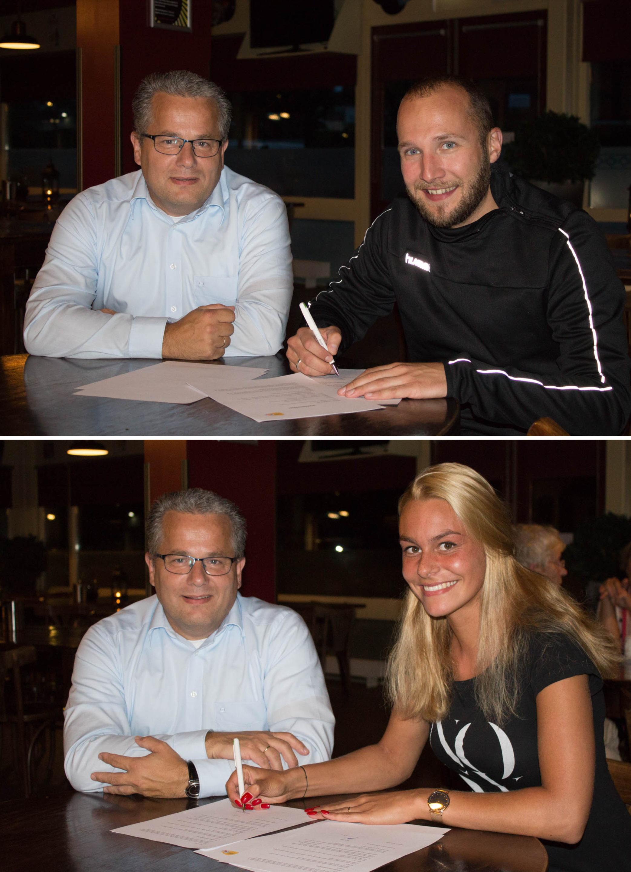 Herry's Bar en Toyota van Gent (Ede/Veenendaal) nieuwe sponsoren