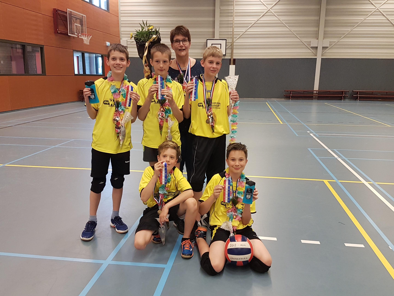 Kleine heren van Woudenberg voor de 5e keer kampioen