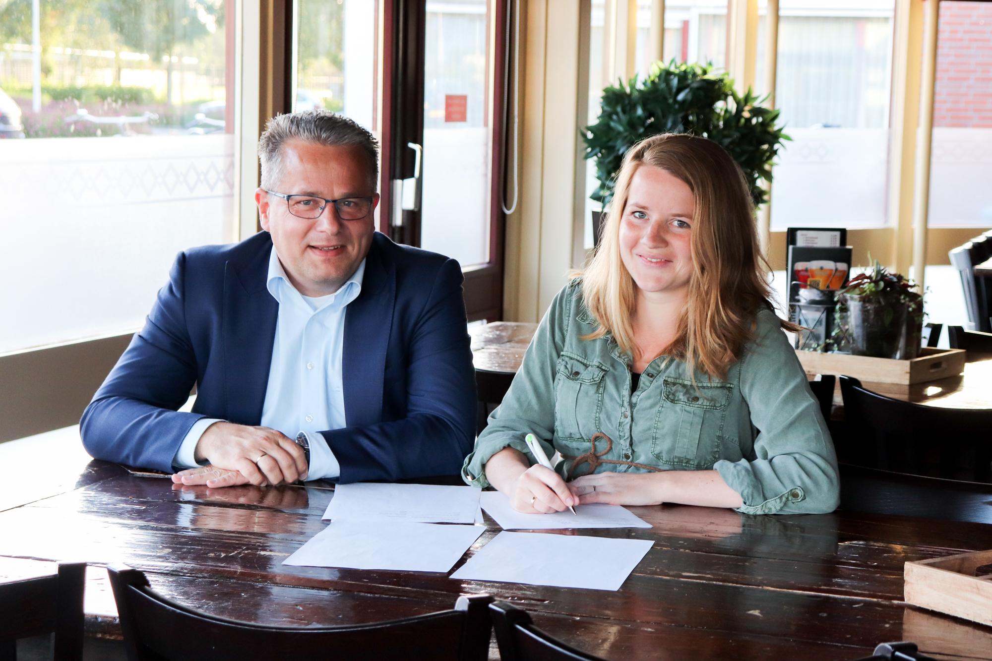 Nieuwe sponsor Volleybalvereniging Woudenberg: Leesign