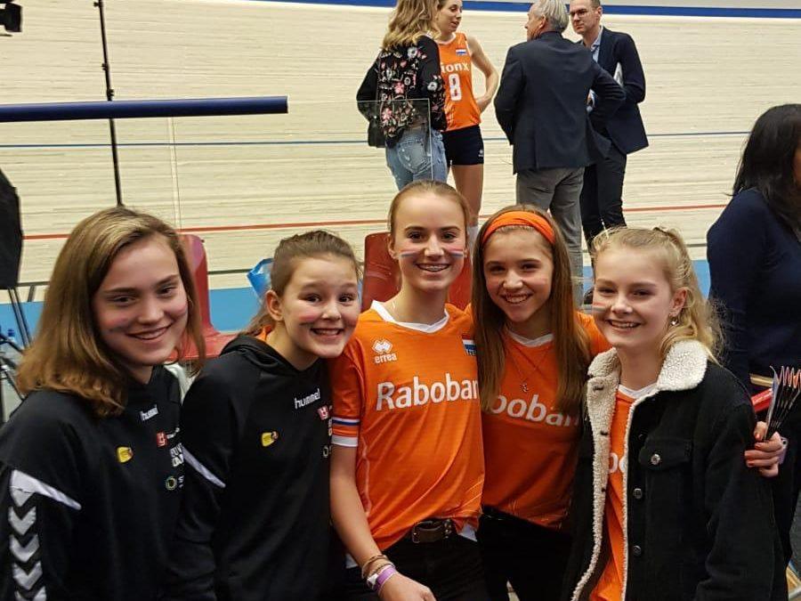 MC1 naar OKT Nederlands Damesvolleybalteam