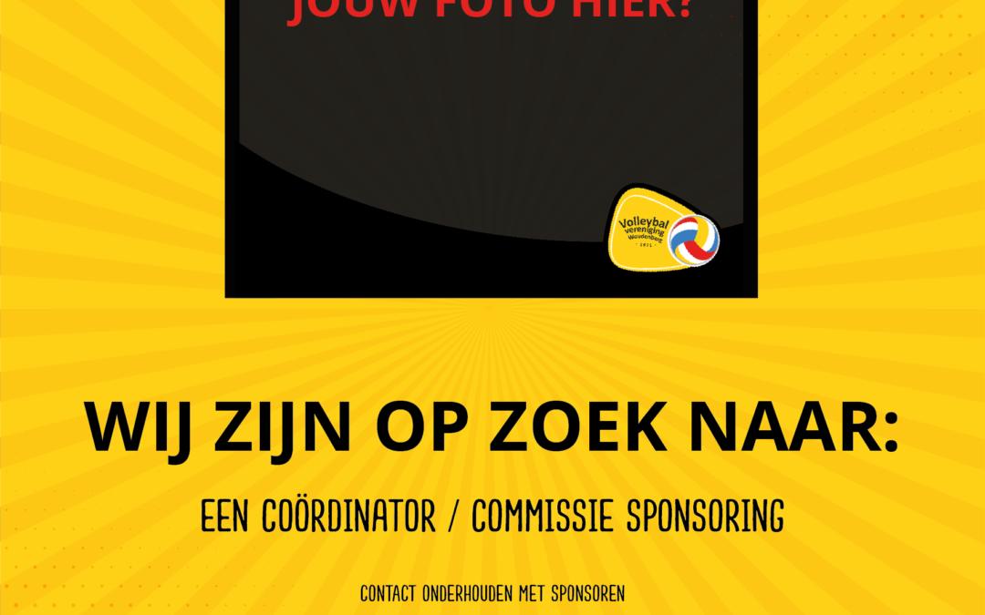 Vrijwilligersproject: coördinator of commissie sponsoring